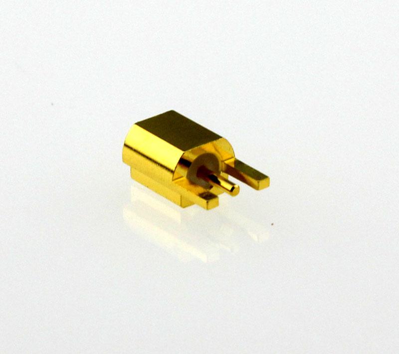 MMCX Jack Female Straight Edge Card Mount Coaxial Connector 50 ohms MMCX6251E1-GTG-50