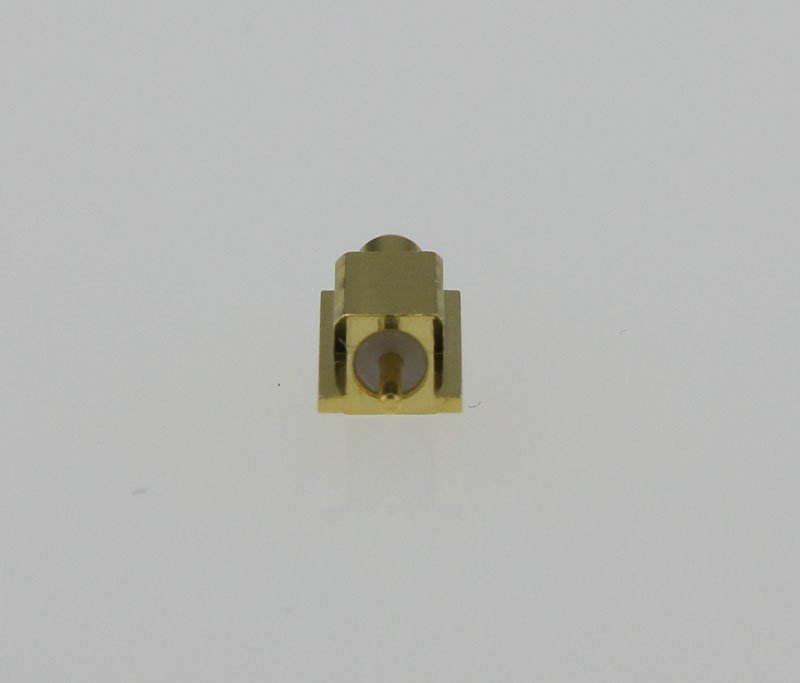 MMCX Plug Male Straight Edge Card Mount Coaxial Connector 50 ohms MMCX1251G1-GTG-50 Back